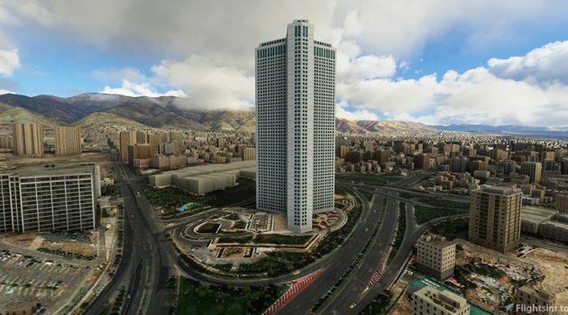 برجهای بین المللی تهران